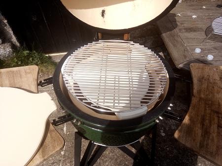 Quick View & Universal Plate Setter BBQ Kamado Big Green Egg 20