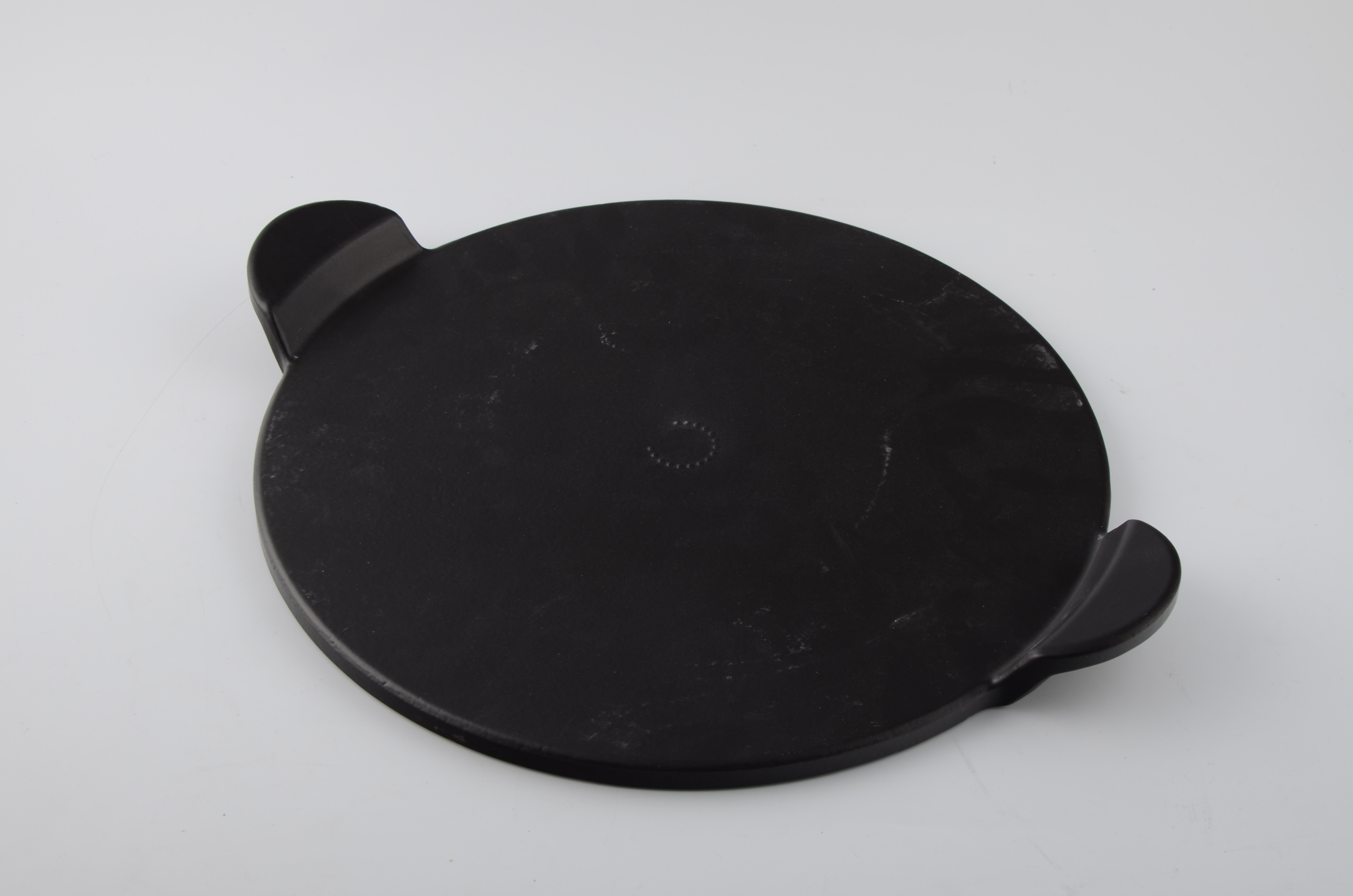 Ceramic Stones For Bbq : Ynni universal ceramic quot pizza stone with handles bbq
