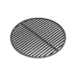 YNNI Universal Cast Iron Slotted Circular Grate 54.5cm 7.5 kg for 25 inch BBQ/Oven Kamado or similar TQZW25