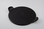 YNNI Universal Black Ceramic 13 Inch Pizza Stone with Handles (30cm) TQAPPBL