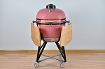 YNNI 25 inch Bespoke Limited Edition XL Kamado BBQ Grill with Remote Chip Feeder and Stand New Model TQ0C25BE