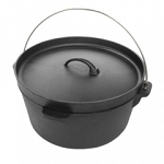 YNNI Large Cast Iron POT use seperately or with Divide and Conquer TQCIP