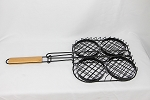 YNNI Burger Grilling Basket BBQ Kamado Big Green Egg Heavy  TQQKJ