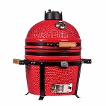 YNNI 15.7 inch Bespoke Colour Kamado Oven BBQ/Grill Egg with Stand TQ0015BE