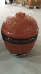 YNNI 14 inch Rose Gold Small Kamado Oven BBQ/Grill Egg with Stand TQ0014RG