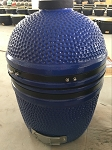 YNNI 15.7-inch Blue Limited Edition Kamado Oven BBQ/Grill Egg with Stand TQ0015BU