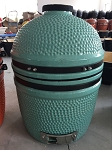 YNNI 15.7 inch Cyan Limited Edition Kamado Oven BBQ/Grill Egg with Stand TQ0015CY