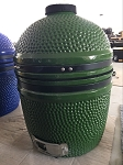 YNNI 15.7 inch Light Green Limited Edition Kamado Oven BBQ/Grill Egg with Stand TQ0015LG
