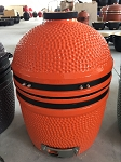YNNI 15.7 inch Orange Limited Edition Oven BBQ/Grill Egg with Stand TQ0015OR