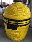 YNNI 15.7 inch Yellow Limited Edition Oven BBQ/Grill Egg with Stand TQ0015YL