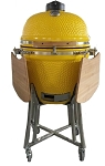 YNNI 25 inch Yellow XL Limited Edition Kamado Oven BBQ/Grill Egg with Stand TQ0025YL