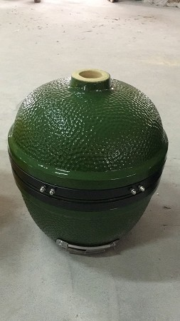 YNNI 14 inch Light Green Oven Small Kamado BBQ/Grill Egg with Stand TQ0014LG